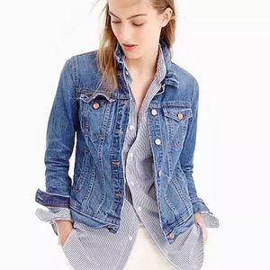 Women's J. Crew Classic Denim Jacket Size Small